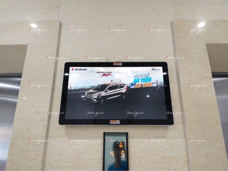 suzuki quảng cáo màn hình lcd, frame