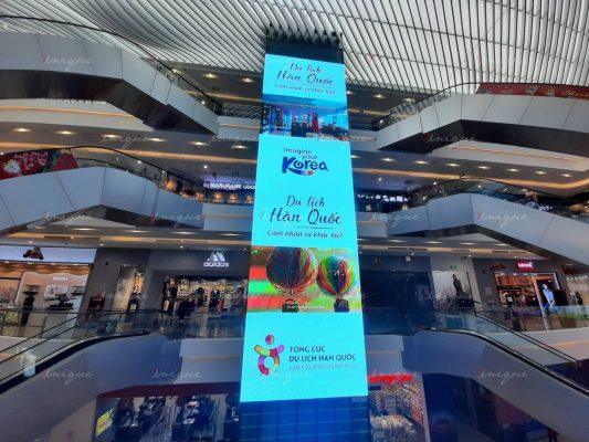 Tổng cục du lịch Hàn Quốc quảng cáo màn hình LED