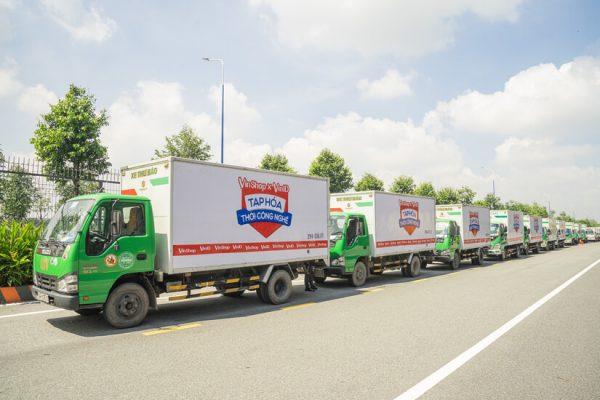 VinShop phủ sóng thương hiệu với chiến dịch quảng cáo trên xe tải siêu khủng