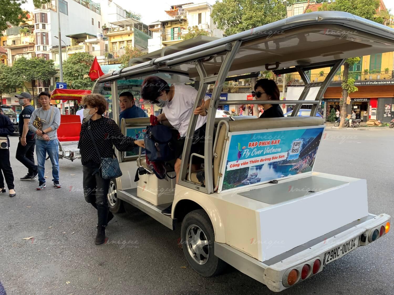 Chiến dịch quảng cáo trên xe điện của Thiên đường Bảo Sơn